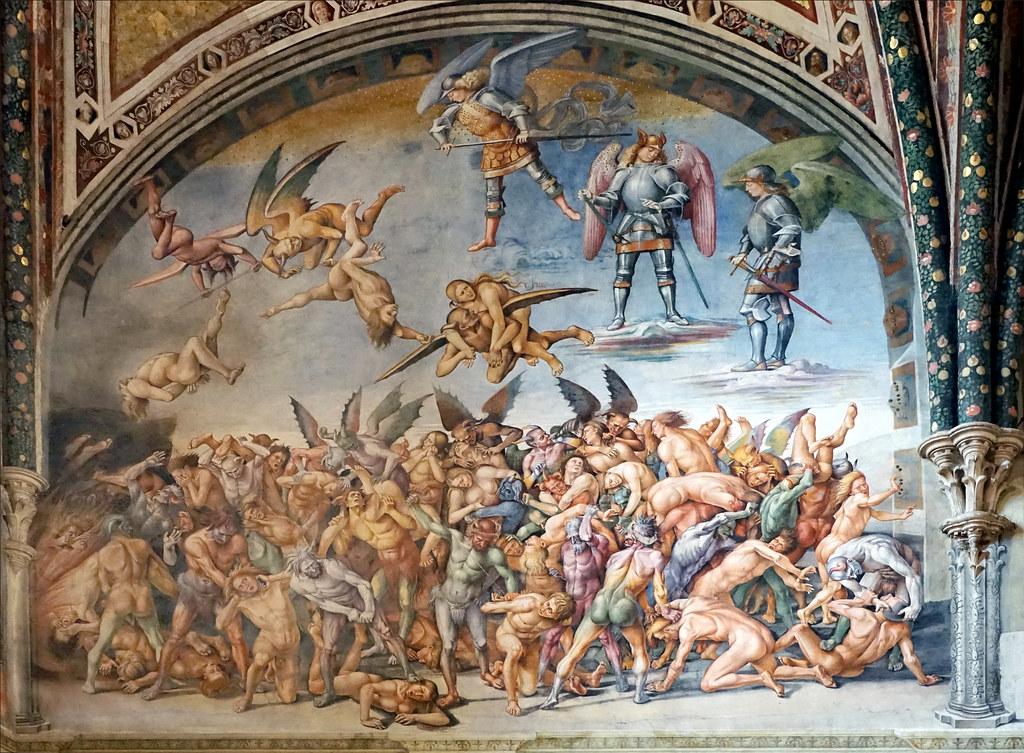 Le Jugement Dernier  Cath U00e9drale D U0026 39 Orvieto  Italie