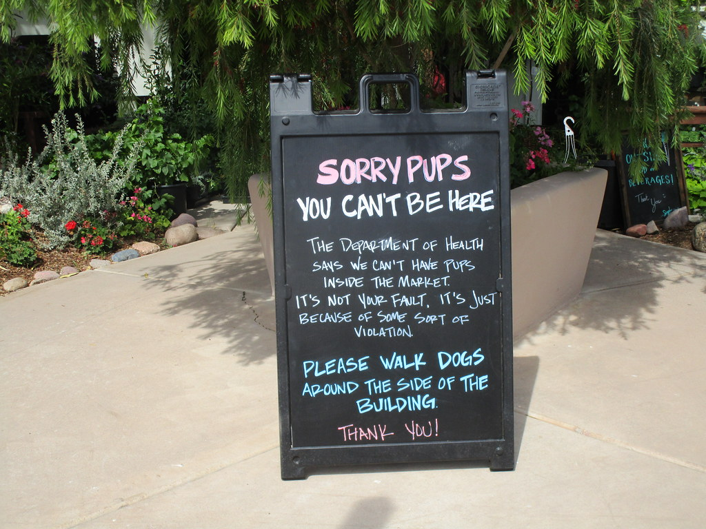 Sorry Pups Sign Singh Meadows Farmers Market Tempe A Flickr