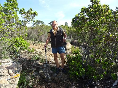 Sur le PR6 : travaux sur le sentier de la crête de Punta Piana