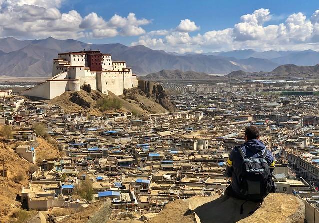 Sele en Shigatse (Tíbet)