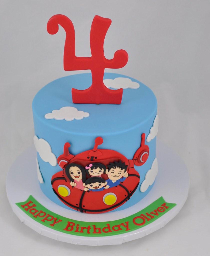 Little Einstein Themed Birthday Cake Jenny Wenny Flickr