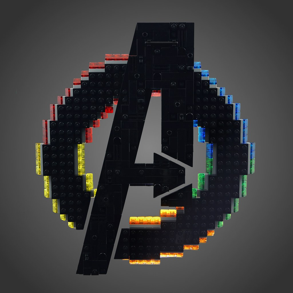 avengers logo couldnt resist putting together a build