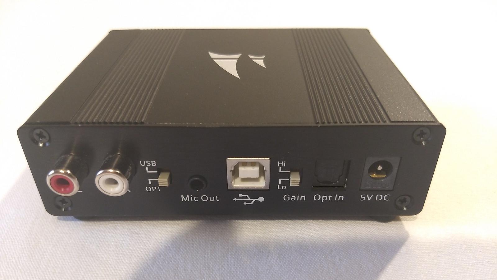 Mayflower ARC DAC USB / optische Soundkarte für ps4 / PC