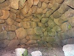 Intérieur du four à pain de la maison n°1 de Vanga