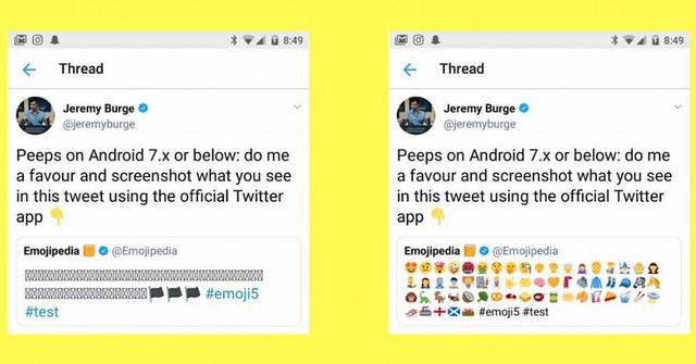 Twitter soluciona los fallos de emoticonos en Android con su propio pack de emojis