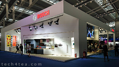 CE China 2018 was an opportunity for international brands to access the Chinese and pan-Asian market. Here's the Bosch booth at the show.