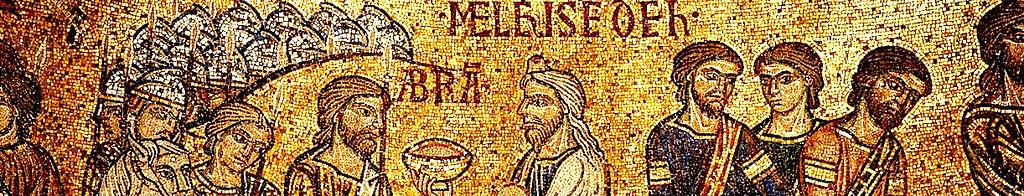 Мелхиседек благословляет Аврама.