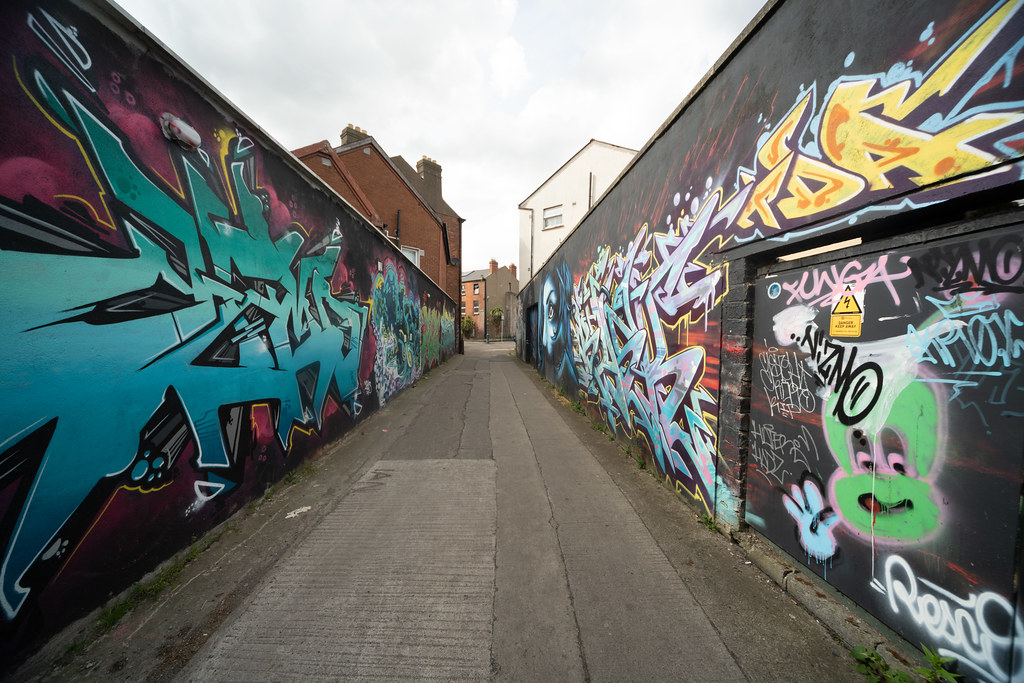 SAINT PETERS LANE - URBAN EXPRESSION AND DEPRESSION 004