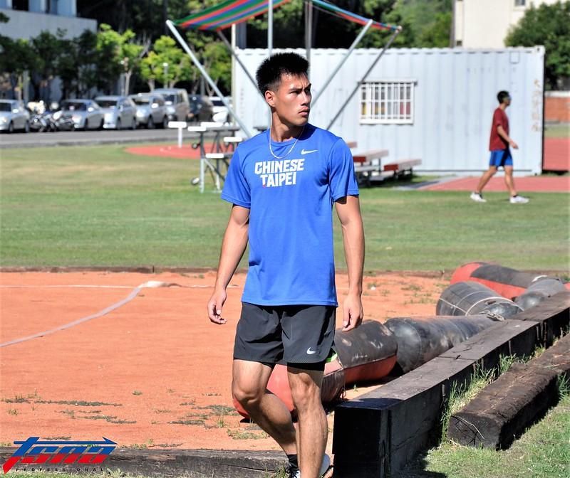楊俊瀚被看好在亞運200公尺項目能衝擊獎牌。(張哲郢/攝)