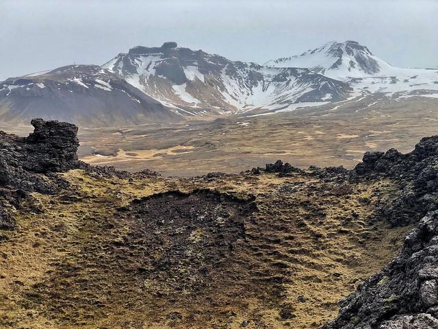 Snaefellsjökull (Snaefellsnes, Islandia)