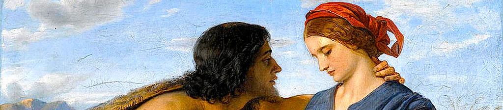 Встреча Иакова и Рахили.