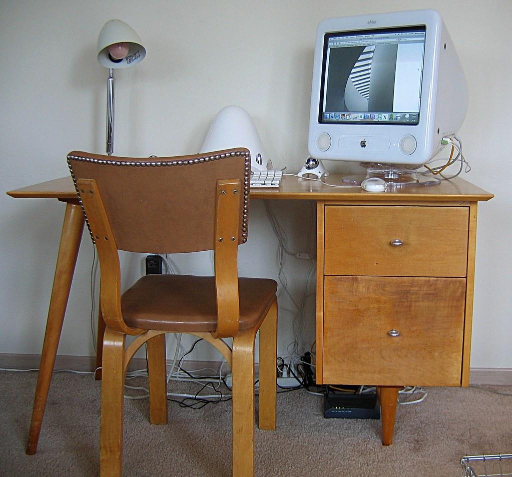 Desk our rental tax refund treat to ourselves was this - Como hacer una mesa de escritorio ...
