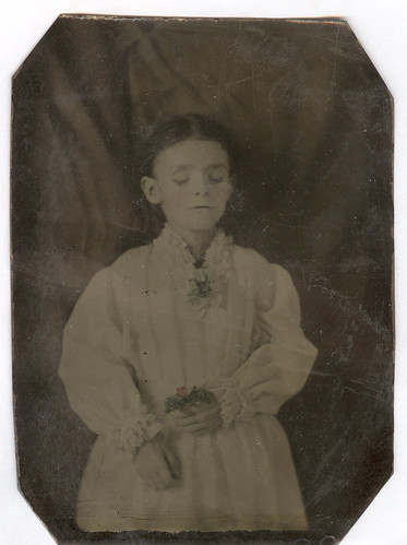 Post-Mortem, Tintype, Young Girl | by mrwaterslide
