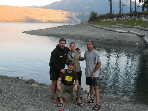 Timer picture at bottom of Wallowa Lake | by BootsnAll