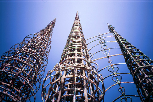 Watts Towers (Slide Film) | by Doubletee