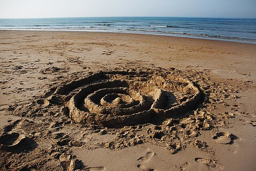 Sand Structure -- Bamburgh Beach | by theilr