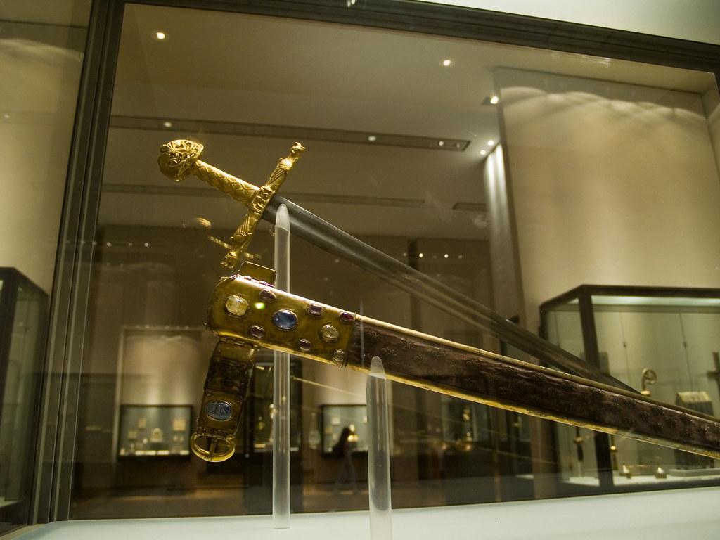 Joyeuse  The sword of Carolus Magnus, better known as Charl ...
