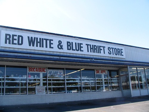 Red White & Blue Thrift Store | by vj_pdx