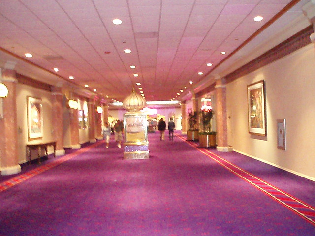 Trump Taj Mahal Inside Hotel Hallway Flickr Photo Sharing