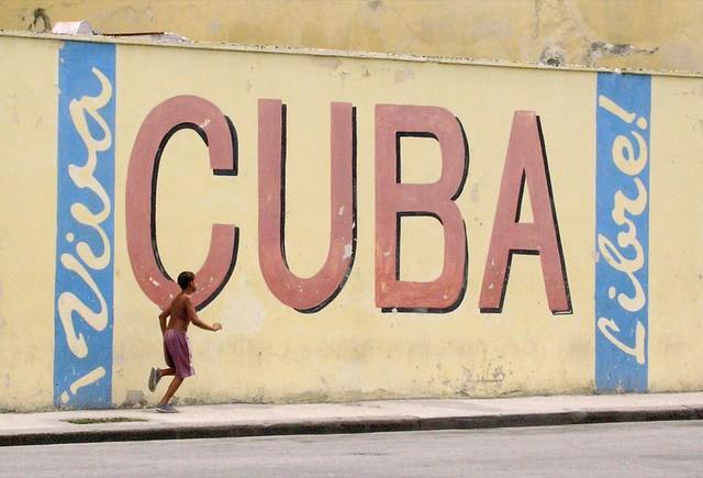 viva cuba libre! | This wall art is near to the museo de la … | Flickr