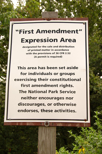 First Amendment Expression Area | by celebdu