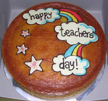teachers  day orange cake sha_zaam! Flickr