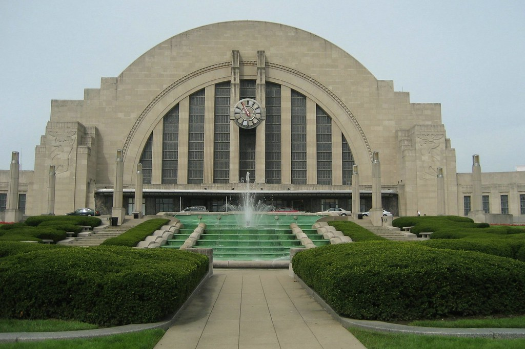 Cincinnati Union Terminal Originally Built From 1929