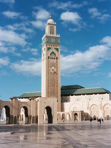 La grande mosqu e d 39 hassan ii casablanca maroc flickr for Mosquee hassan 2 architecture