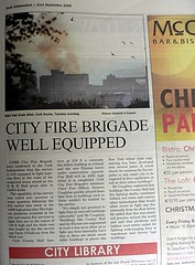 City Fire Brigade Well Equipped | by Donncha Ó Caoimh