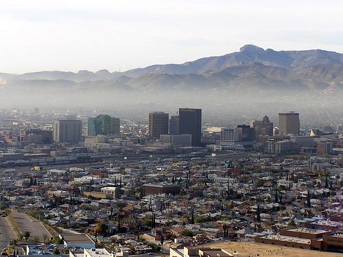 Downtown el paso texas 03 december 2003 taken from for El paso america