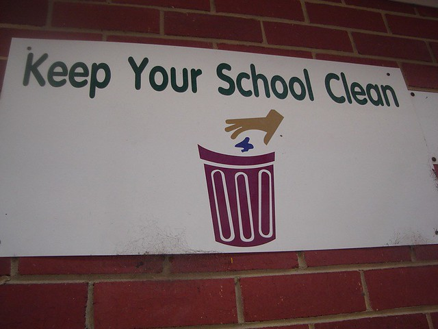 """keep your school compound clean To this end,the programme is now branded the """"keep a clean school award   the school year, for litter and general tidiness of school compound and class."""
