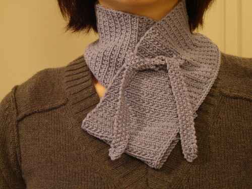 bainbridge scarf: finished | by mintyfreshflavor