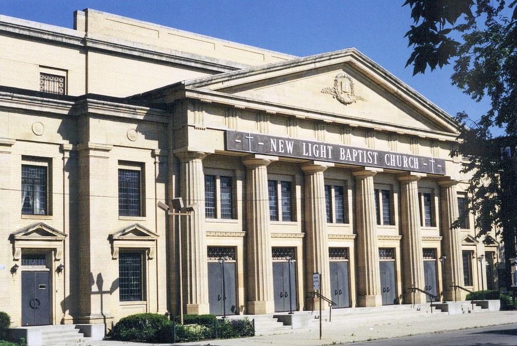 Superior ... New Light Baptist Church (Formerly Fourth Church Of Christ,  Scientist)  Detroit