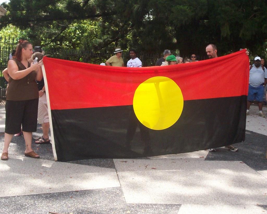 Aboriginal Flag - Inva...