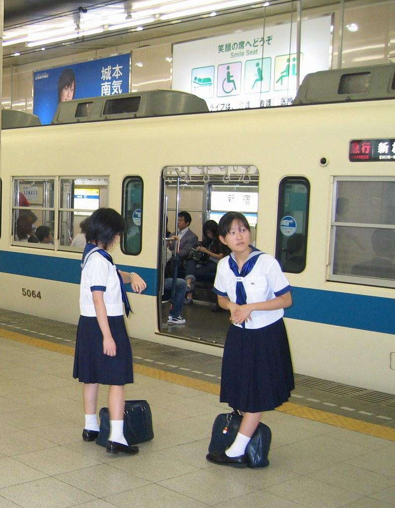 Japanese school girls | Tokyo | tinyfishy (Home Again ...