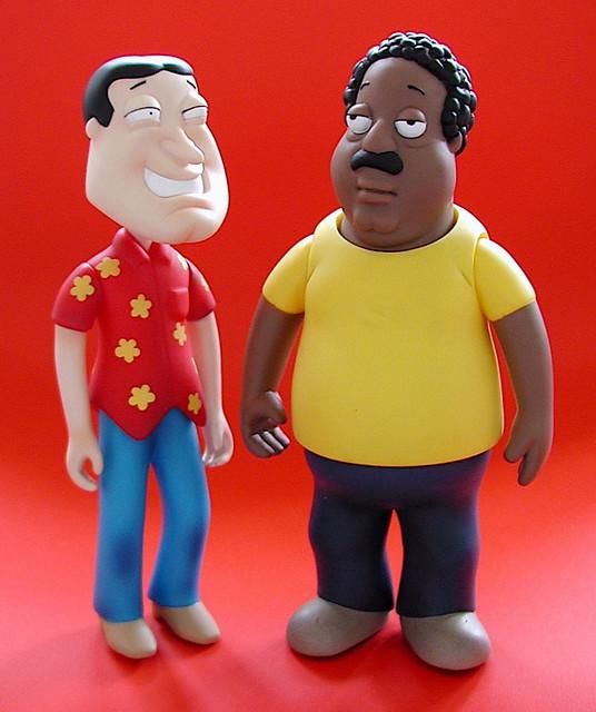 Cleveland Family Guy Toys : Mezco family guy figures quagmire cleveland j pidgeon