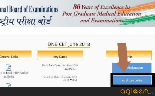 DNB CET 2018 Application Form: Last Date   31 May; Register Now