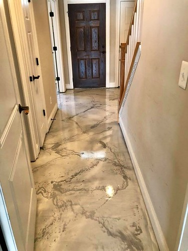 Italian Marble Epoxy Floor Harrisonburg Epoxy Flooring H