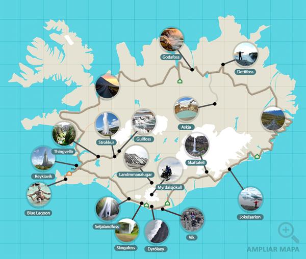 Ruta de 10 días por la Ring Road de Islandia en coche