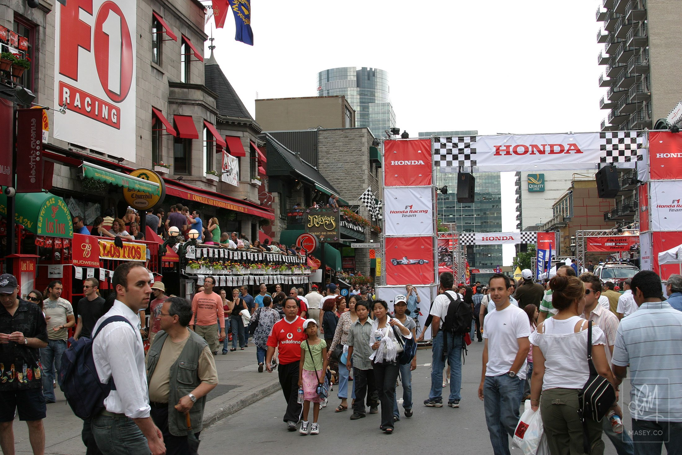 Montreal F1 Grand Prix festivities