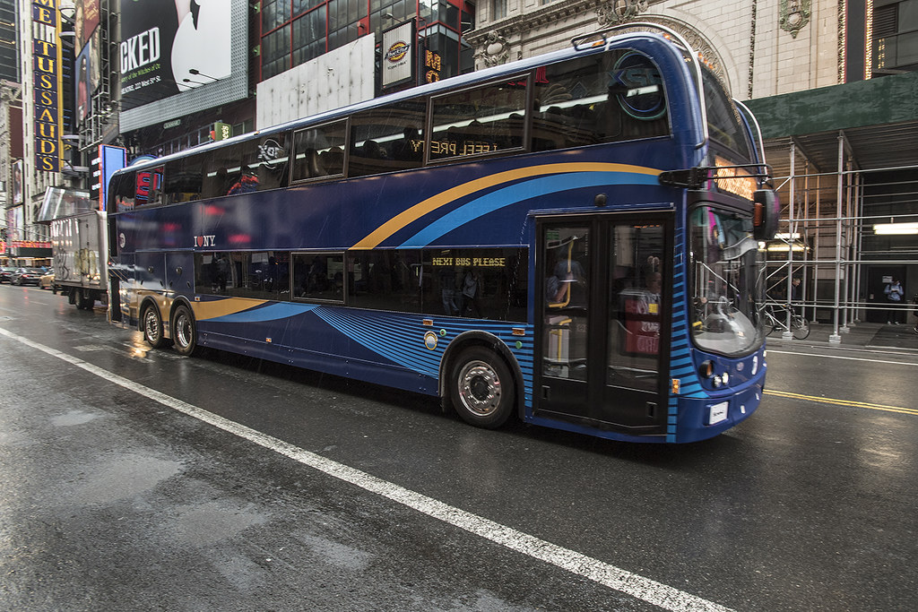 Bus Plan New Double Decker Bus On X17 Route Mta New