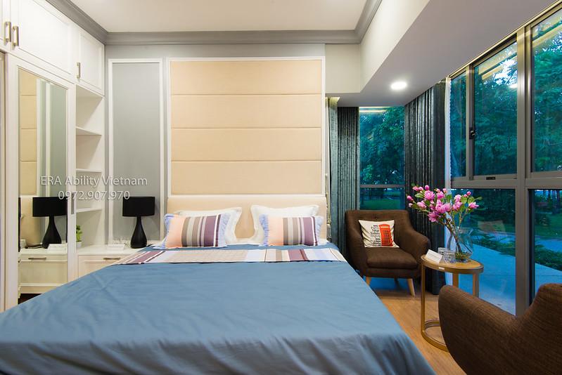 Phòng làm việc nhà mẫu Celadon City 3 phòng ngủ