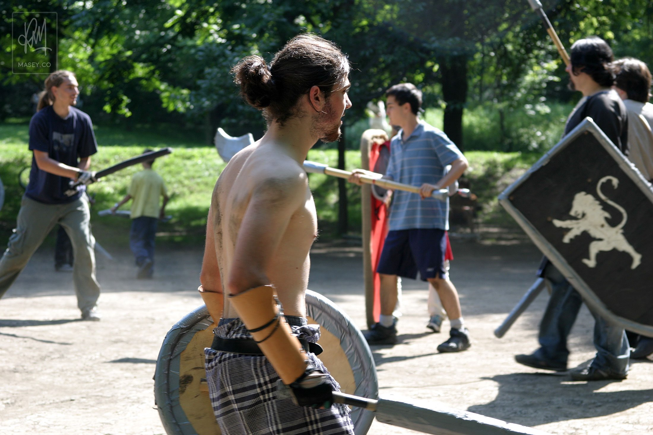 Montreal's Mont Royal LARPers