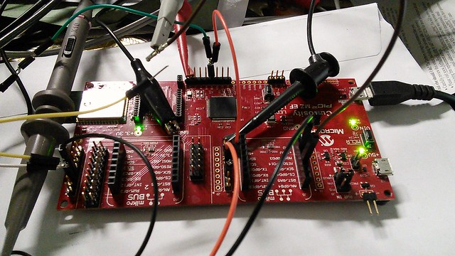 Port of RIOTOS to Curiosity PIC32 MZ EF Development Board