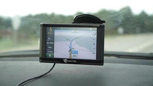 Navitel E500 navigacijos testas ir kelionė į Lenkiją