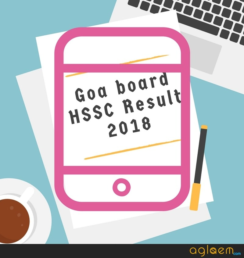 GOA HSSC Result 2018