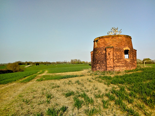 The old windmill in Shelford