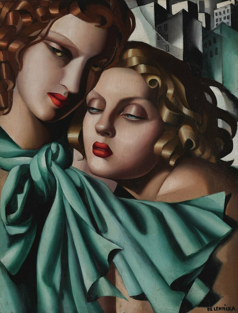 Tamara De Lempicka Young Women C 1930 The Elegant