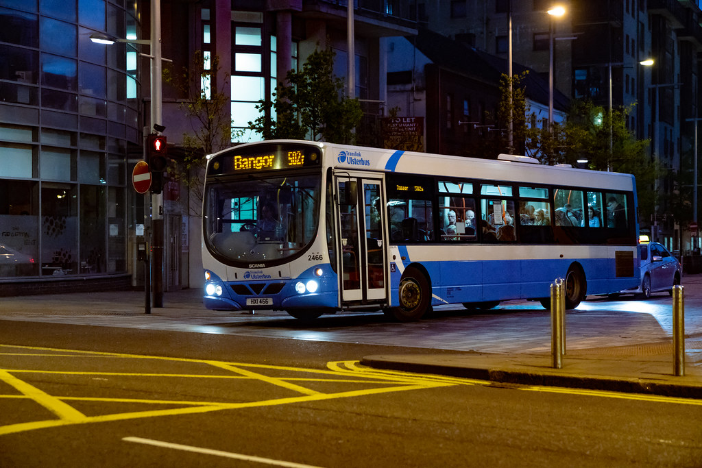 BELFAST BUSES -  [MAY 2018]  012