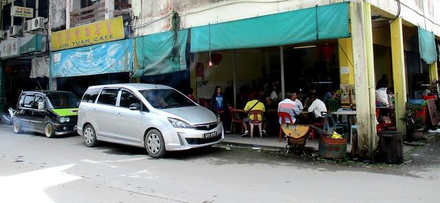 Corner coffee shop, Selangau